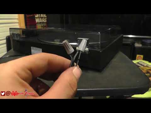 Sony PS-LX49P Turn Table Power Cord Fix And Test