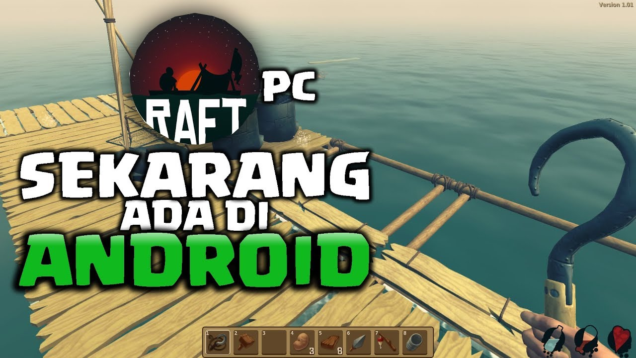 Game Survival Pc Raft Di Android Youtube