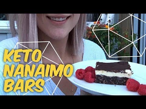 Keto Nanaimo Bars - Ketogenic Dessert - Joanna Tries To Cook Again!