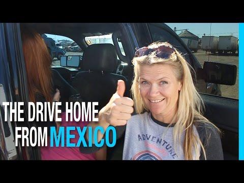 THE DRIVE HOME FROM MEXICO! SAYULITA TO MAZATLAN | EP 49 RV LIFE TRAVEL VLOG