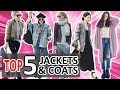 TOP 5 JACKETS & COATS EVERY GIRL MUST HAVE