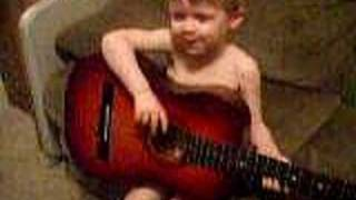3 year old kid singing Nirvana'sCover-Man Who Sold the World