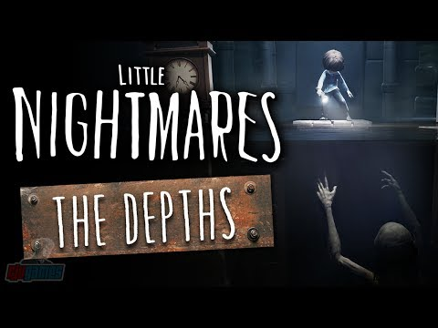 Little Nightmares DLC The Depths | PC Gameplay Walkthrough | Horror Game Lets Play