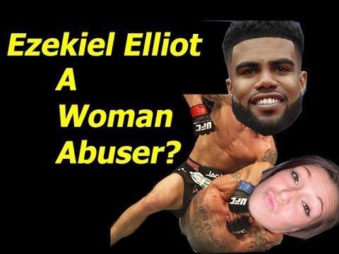 Ezekiel Elliott Of Americas team Woman Abuser?