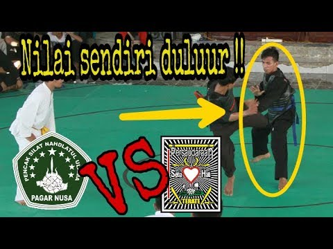 Keren !! SMA WACHID HASYIM (PN) VS SMAN 1 MANTUP (PSHT) -- Go to O2SN Lamongan