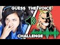 GUESS THE ANIME VOICE CHALLENGE (ft.CDawgVA)