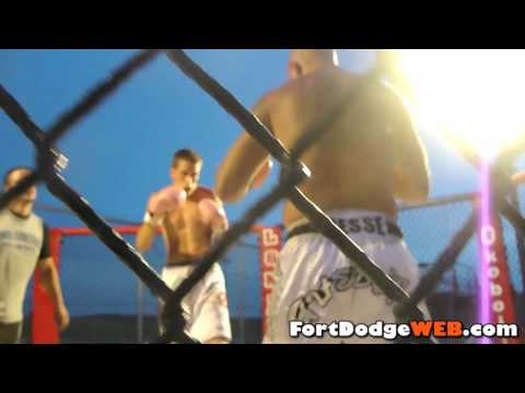 (Fight #13) 2010 MMA Event at Mineral City Speedway in Fort Dodge