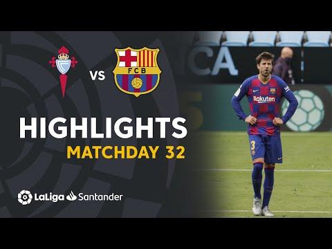 Highlights RC Celta vs FC Barcelona (2-2)