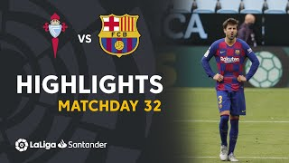 Highlights Rc Celta Vs Fc Barcelona  2-2