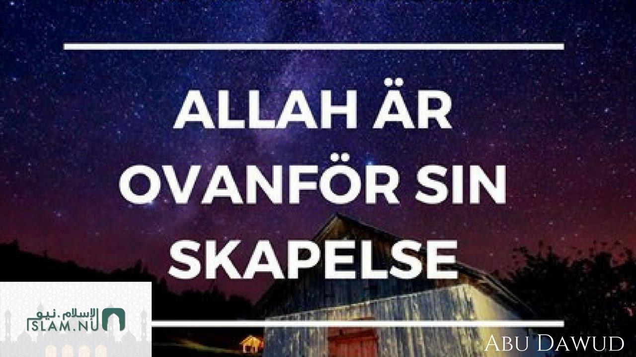 Allah är ovanför Sin skapelse | Påminnelse med Abu Dawud