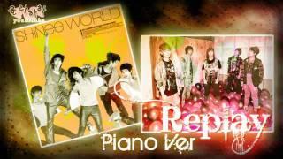 [DL MP3] HQ SHINee - Replay (Piano Ballad Ver)