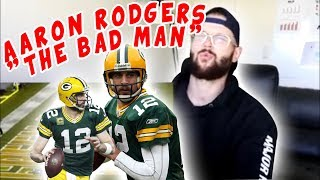 "Rugby Player Reacts to AARON RODGERS ""The Bad Man"" NFL YouTube Video"