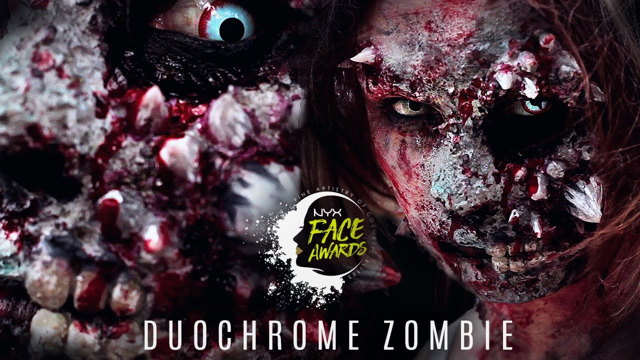Download DUOCHROME ZOMBIE I Top 10 Challenge I #nyxfaceawardsgermany I Gina Mie