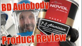 Classic Car Restoration Novol Polyester Aluminium Spray Filler Review Using Satajet 100 Bp