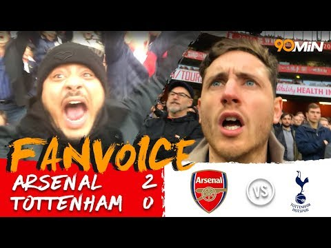 Arsenal 2-0 Tottenham | Mustafi and Sanchez goals for Arsenal destroy Spurs 2-0! | FanVoice