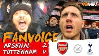 Arsenal 2-0 Tottenham | Mustafi and Sanchez goals for Arsenal destroy Spurs 2-0! | FanVoice