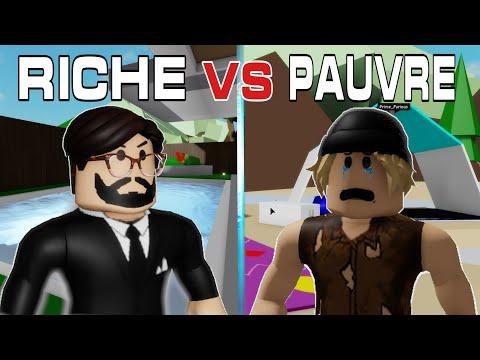 RICHE VS PAUVRE SUR BROOKHAVEN RP ???!!!