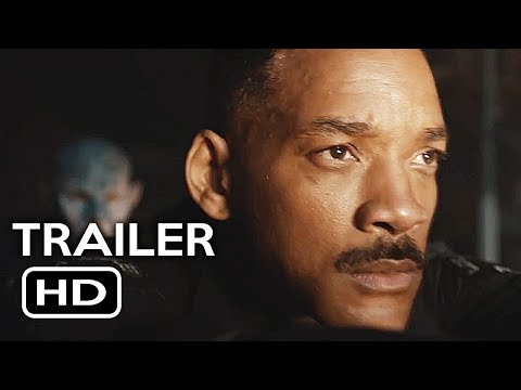 Thumbnail: Bright Official Trailer #1 (2017) Will Smith Netflix Sci-Fi Movie HD