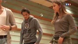 Danse avec les stars Sandrine Quétier et Vincent Cerutti