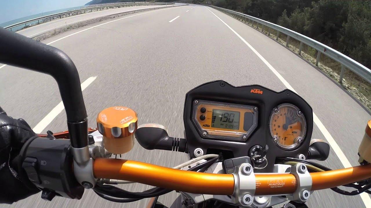 ktm 990 superduke top speed motoblog bathu r1 vlog #80 - youtube