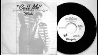"Blondie - ""Call Me"" (7"" Instrumental Mix)"