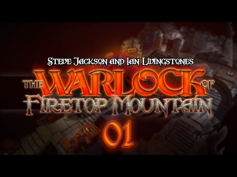 The Warlock of Firetop Mountain #01 MAKE LIKE AN ORC - Fight Fantasy Let's Play
