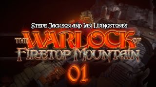 The Warlock of Firetop Mountain #01 MAKE LIKE AN ORC - Fight Fantasy Let