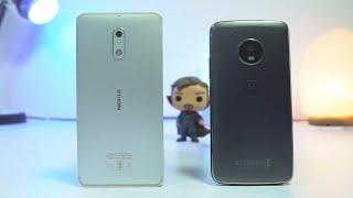 Nokia 6 vs Moto G5 Plus Speed Test