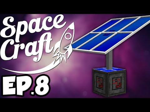 SpaceCraft: Minecraft Modded Survival Ep.8 - Starting Galacticraft!