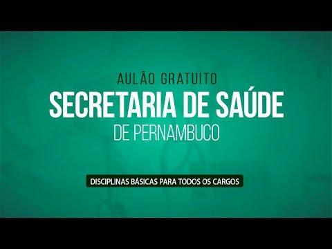 AULÃO PARA O CONCURSO DA SECRETARIA DE SAÚDE DE PERNAMBUCO thumbnail