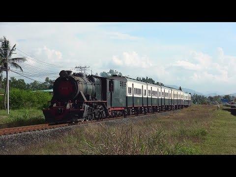 SL観光列車「北ボルネオ鉄道」 Putatan~Tanjung Aru間走行