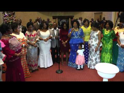 THE CHURCH OF PENTECOST USA ,INC.  NEW ENGLAND DISTRICT CHRISTMAS CONVENTION 2015  SUNDAY   MASTER