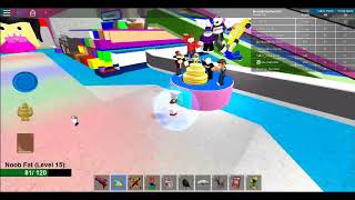 Making some cakes | Roblox Make a Cake and Feed a Giant Noob. | Roblox Let's Play #3