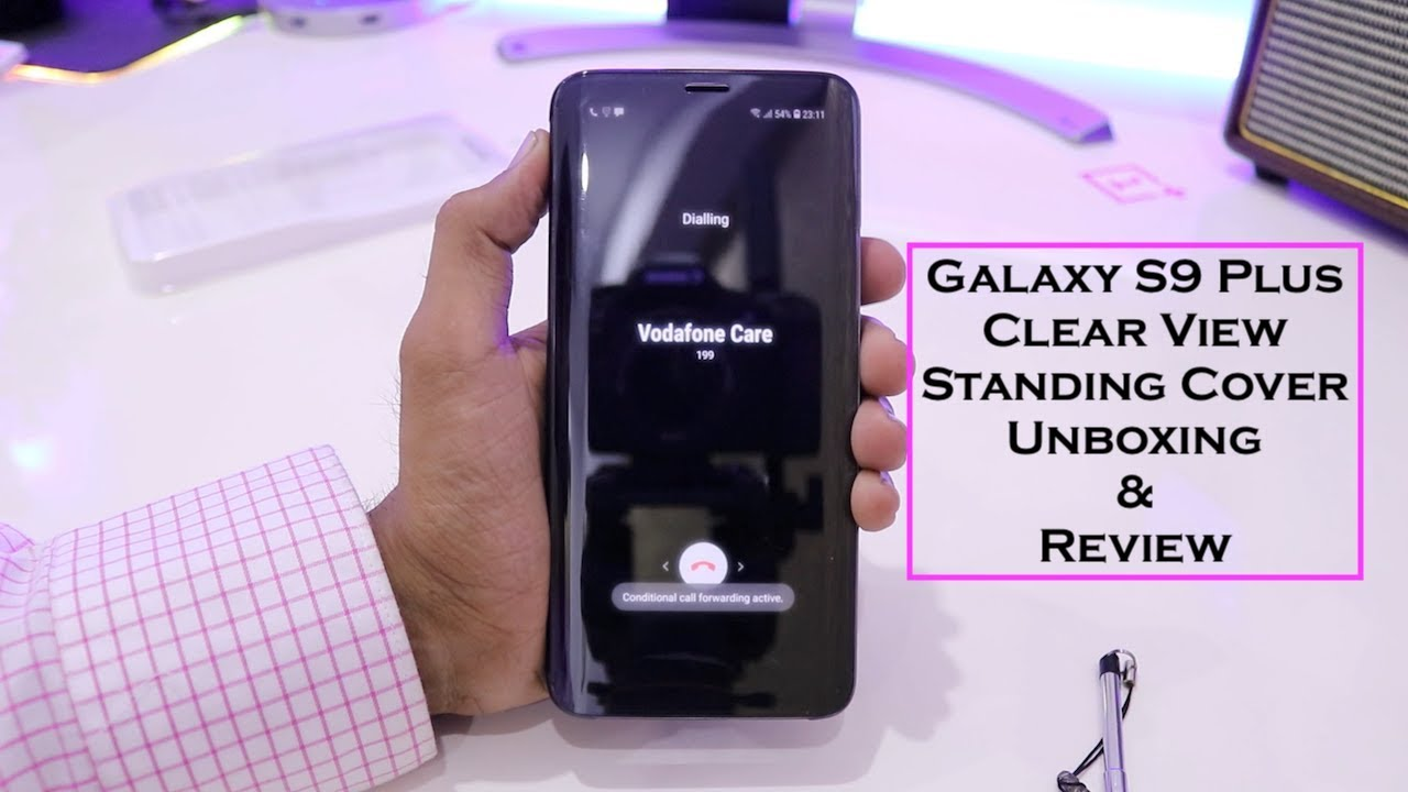 buy online 57cb5 e86e0 Galaxy S9 Plus Clear View Standing Cover Unboxing & Review