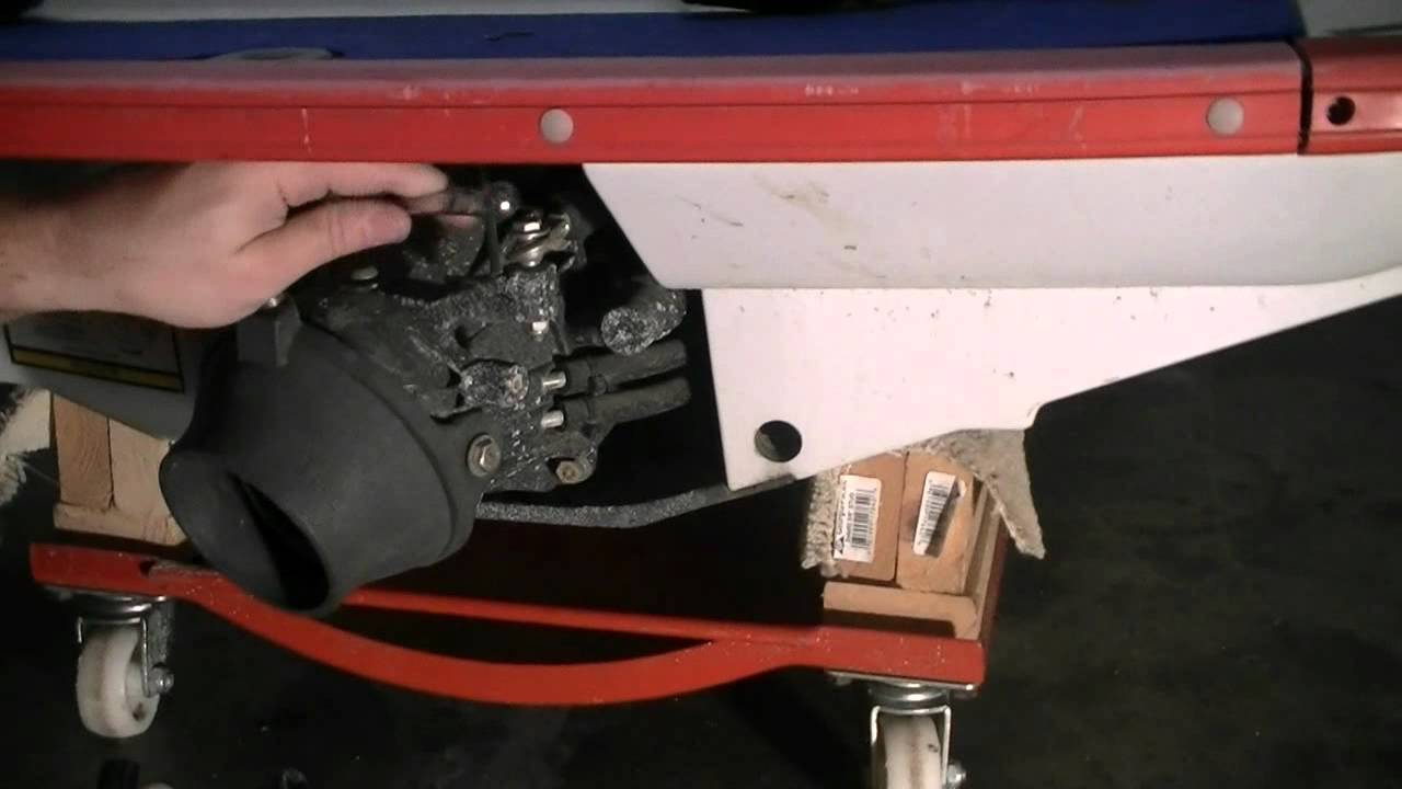 Jet Ski tear down part 2  How to remove the Jet pump  YouTube