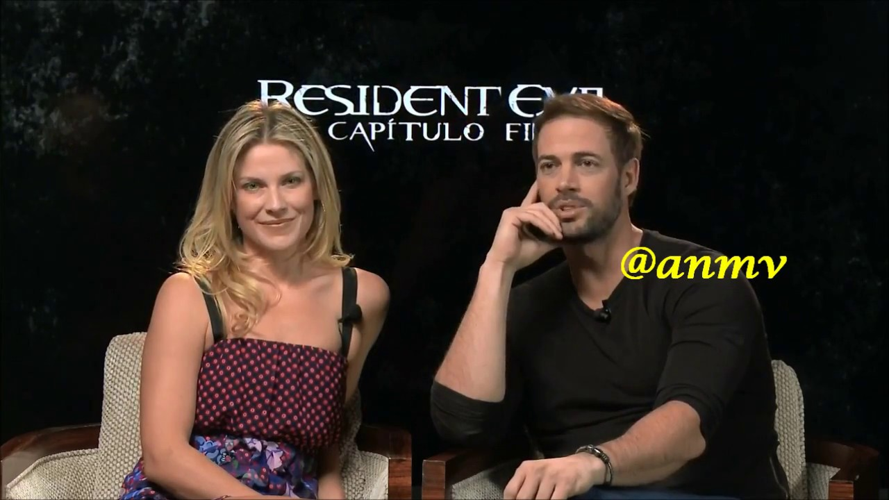 Resident Evil The Final Chapter Interview: Ali Larte & William Levy Resident Evil Final Chapter