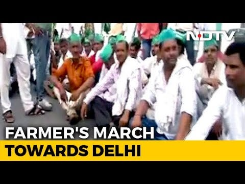 Thousands Of UP Farmers On Way To Delhi As Talks Over Demands Fail