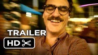 Her Official Trailer #2 (2013) - Joaquin Phoenix, Scarlett Johansson Movie HD