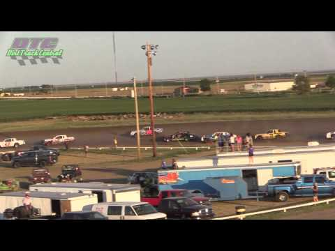 IMCA Hobby Stock A Feature Wakeeney Speedway 7 27 14