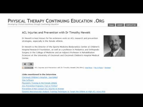 Physical Therapy Continuing Education - Video Tour