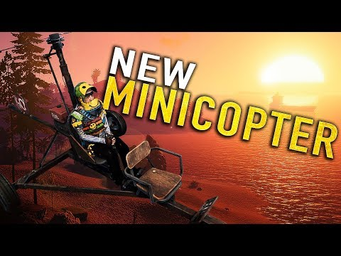 THE NEW RUST MINICOPTER IS SO OP ON WIPEDAY!! - RUST thumbnail