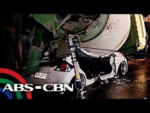 TV Patrol: 3 bata, kabilang sa mga nadaganan ng cement mixer