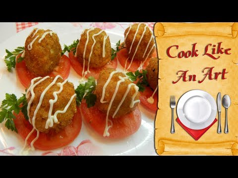 #Fish balls with cheese, ideal vegetarian food