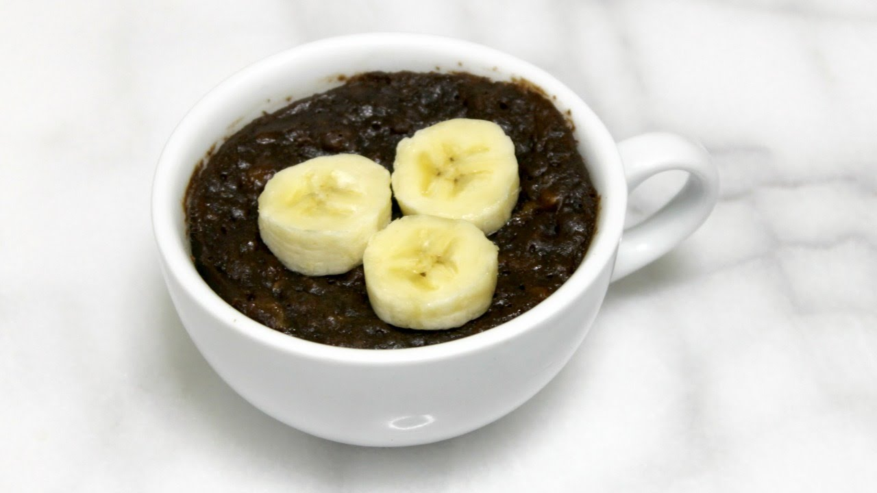 1 Minute Mug Cake: Banana Nutella Mug Cake (no egg mug ...