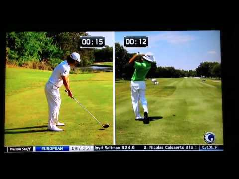 Kevin Na takes too long to hit the ball