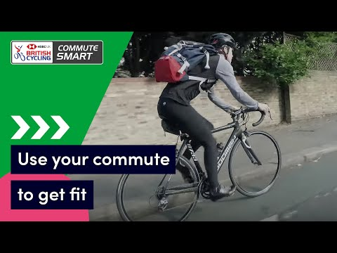How to use your cycling commute as training | Commute Smart