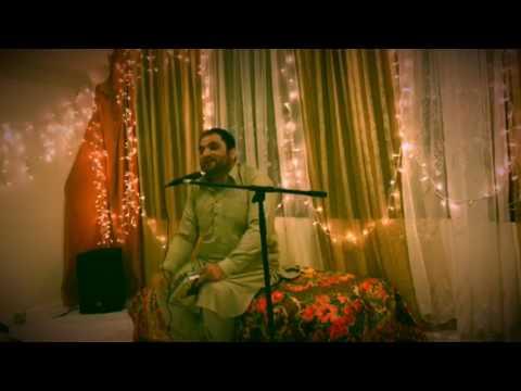 Mr. Shahid Biltistani reciting manqbaat in Jashan at Abidi House Maryland U.S.A