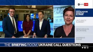 The Briefing Room: Whistleblower, UN Climate Summit, Ukraine, Biden, Warren