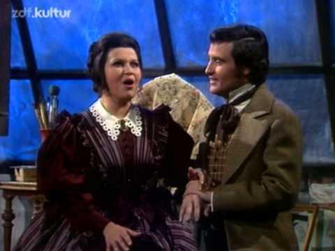 Helen Donath, Jeanette Scovotti, Adolf Dallapozza - La Bohéme 1975