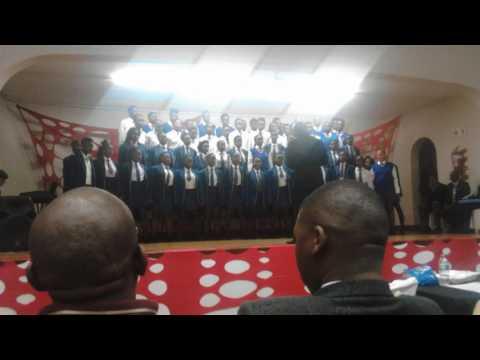Katlehong Technical school choir: Lefamolele rendition